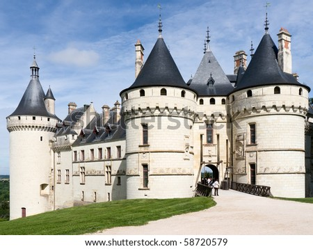 Castle of Chaumont sur Loire, France