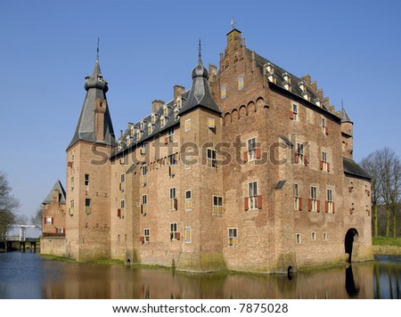 Castle of Doorwerth in Holland
