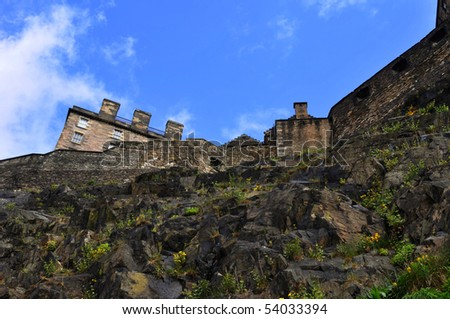 Castle of Edinburgh, Great Britain
