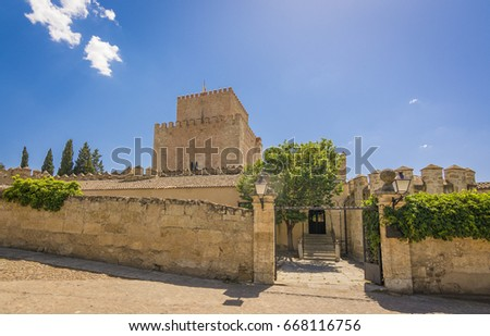 Shutterstock Castle of Henry II of Castile, 14th Century, in Ciudad Rodrigo, a small cathedral city in the province of Salamanca, Spain.
