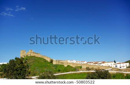 Castle of Mertola, Portugal.