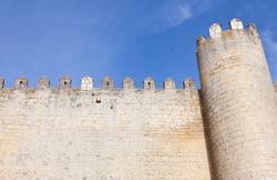 Castle of Montealegre in Valladolid, Spain