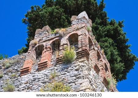 Castle of Montebello. Emilia-Romagna. Italy.