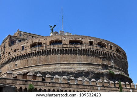 Castle of Saint Angel. Rome. Italy. Europe.