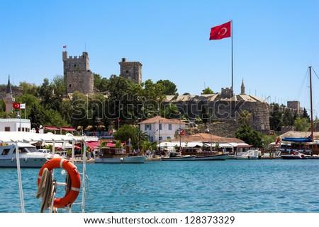 Castle of Saint Peter in Bodrum, Turkey