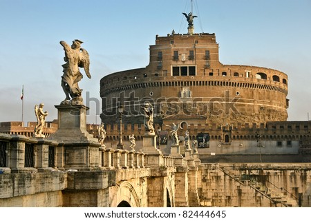 Castle of the Angels, Rome