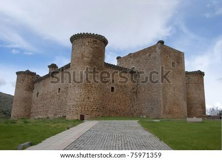 Castle of Valdecorneja. Barco de Avila, Avila. Spain. Stock photo ©