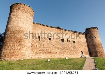 Castle of Valdecorneja. Barco de Avila, Spain. Stock photo ©