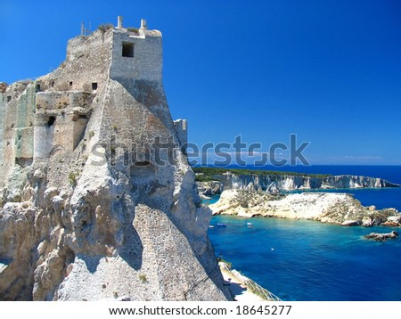 Castle on Tremity island