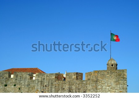 Castle Portugal - stock photo