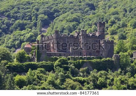 Castle Reichenstein, Germany, Rhine Valley, Unesco World Heritage,