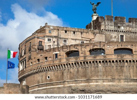 Castle Sant'Angelo, Rome, Italy #1031171689