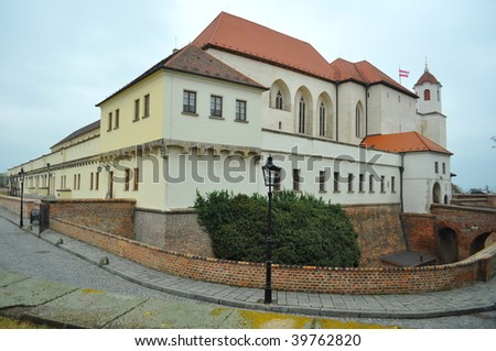 castle spilberk in brno city