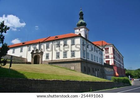 Castle Zakupy, Czech republic Zdjęcia stock ©