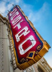 Castro Theatre Sign, Castro District, San Francisco
