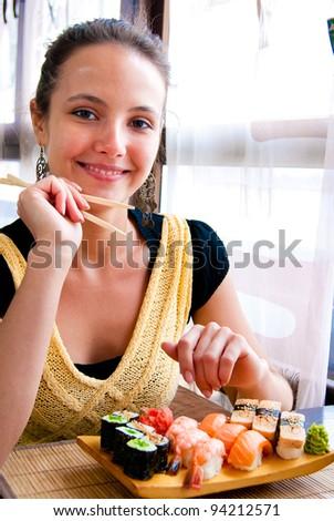 Casual Dinner Girl