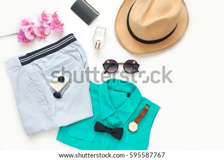 Casual Woman's Appeal on White Background