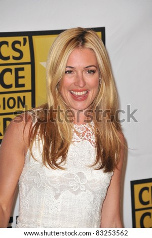 Cat Deeley at the inaugural Critics\' Choice TV Awards, presented by the Broadcast TV Journalists Association, at the Beverly Hills Hotel. June 20, 2011 in CA Picture: Paul Smith / Featureflash
