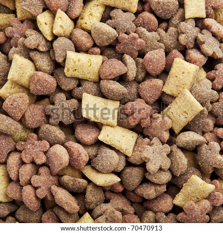 Cat food background