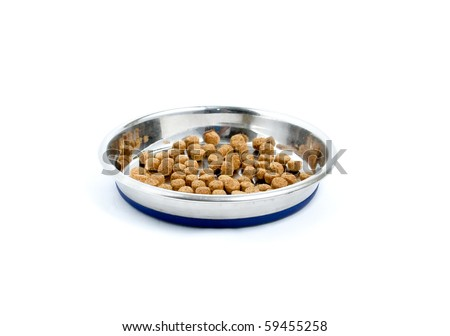 Cat Food Isolated