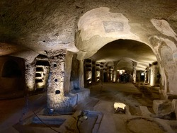 Catacombs of San Gennaro, Naples, Italy