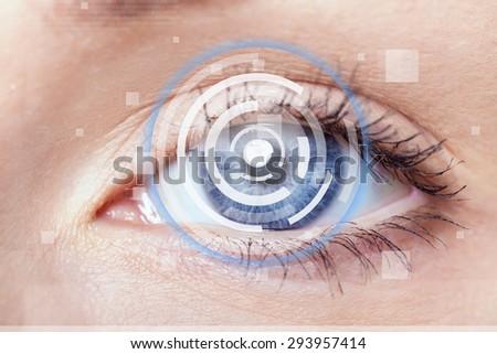 Cataract, eye, vision. #293957414