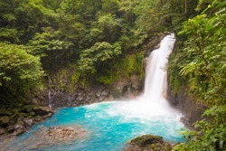 Catarata del Rio Celeste, Azul, Tenorio National Park, Costa Rica