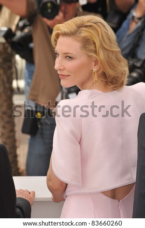 Cate Blanchett  at the 63rd Festival de Cannes where her movie \