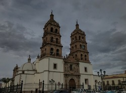 Catedral in the beautiful and unique Durango, Durango