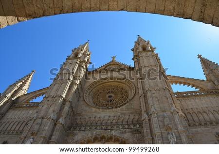 Catedral. Palma de Mallorca - stock photo