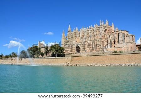Catedral y Almudaina. Palma de Mallorca