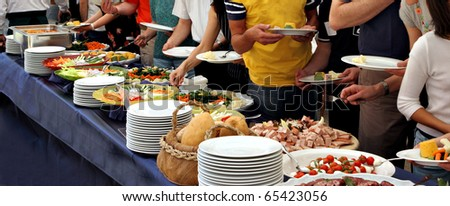 catering - buffet