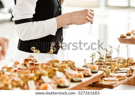 catering food ストックフォト ©