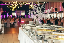 catering wedding event plate service