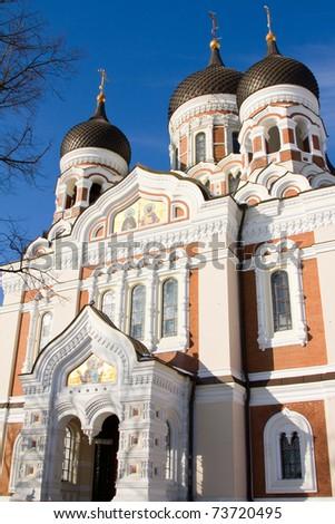 Cathedral Alexander Nevski (Tallin, Estonia).