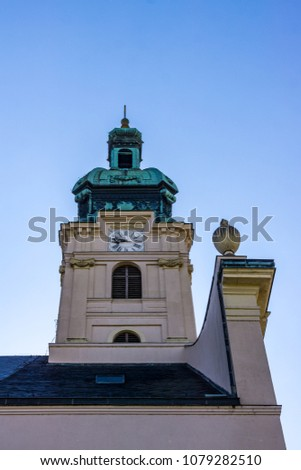 Cathedral Basilica of the Assumption of Our Lady, Gy?r Hungary Stock fotó ©