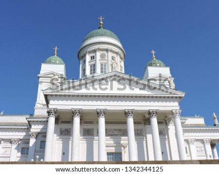 Cathedral Church in Helsinki #1342344125