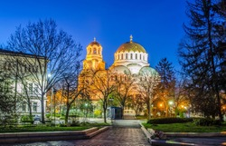 Cathedral in capital of Bulgaria Sofia