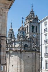 cathedral in Lugo (in Spanish Catedral de Santa María de Lugo) Northern Spain Galicia