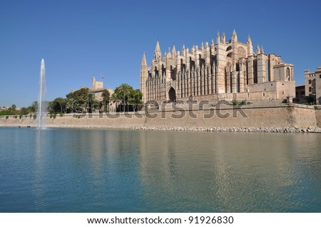 Cathedral in Palma, Majorca