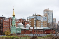 Cathedral mosque, rear facade, built 1902 - 1903, Perm region ,  Perm city, Russia