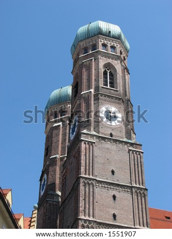 cathedral, Munich, Germany - stock photo