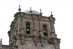 Cathedral of Juli in Perú, near Titicaca lake. First church of the jesuites in Southamerica