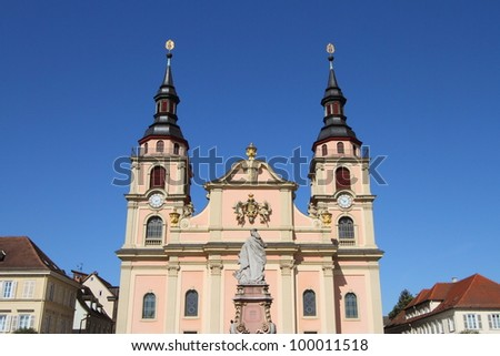 Cathedral of Ludwigsburg, Germany