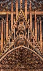 cathedral of Notre-Dame at Strasbourg, France