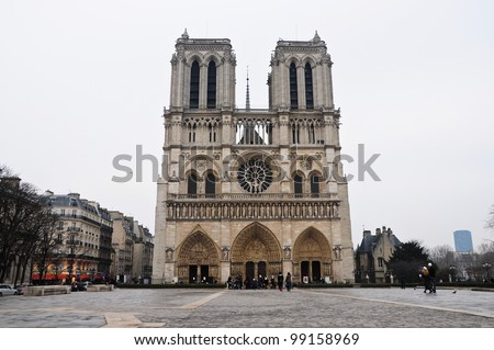 Cathedral of Notre-Dame, Paris, France