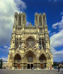 Cathedral of Notre-Dame, Reims, France, UNESCO