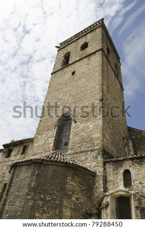 Cathedral of Our Lady of Nazareth in Orange city. Old religious building in Provence France