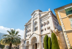 Cathedral of Our Lady of the Immaculate Conception), also known as Saint Nicholas Cathedral, landmark of Monaco