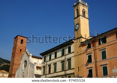 Cathedral of Pietrasanta Lucca Italy